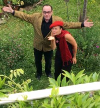 Kultur im Park: lockeres Improtheater mit Fingerfood